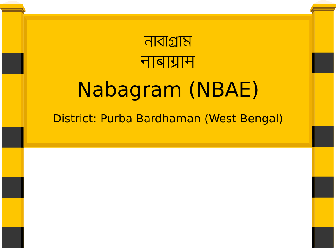 Nabagram (NBAE) Railway Station