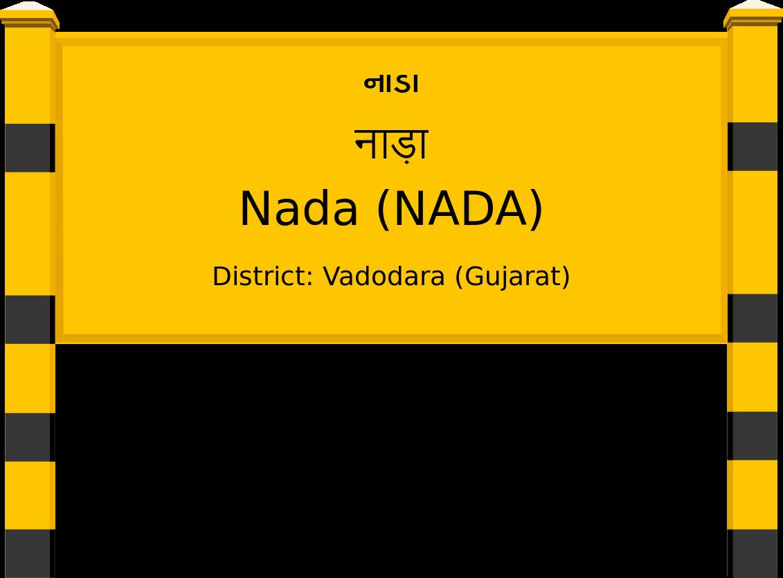 Nada (NADA) Railway Station