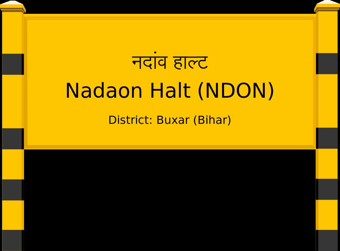Nadaon Halt (NDON) Railway Station