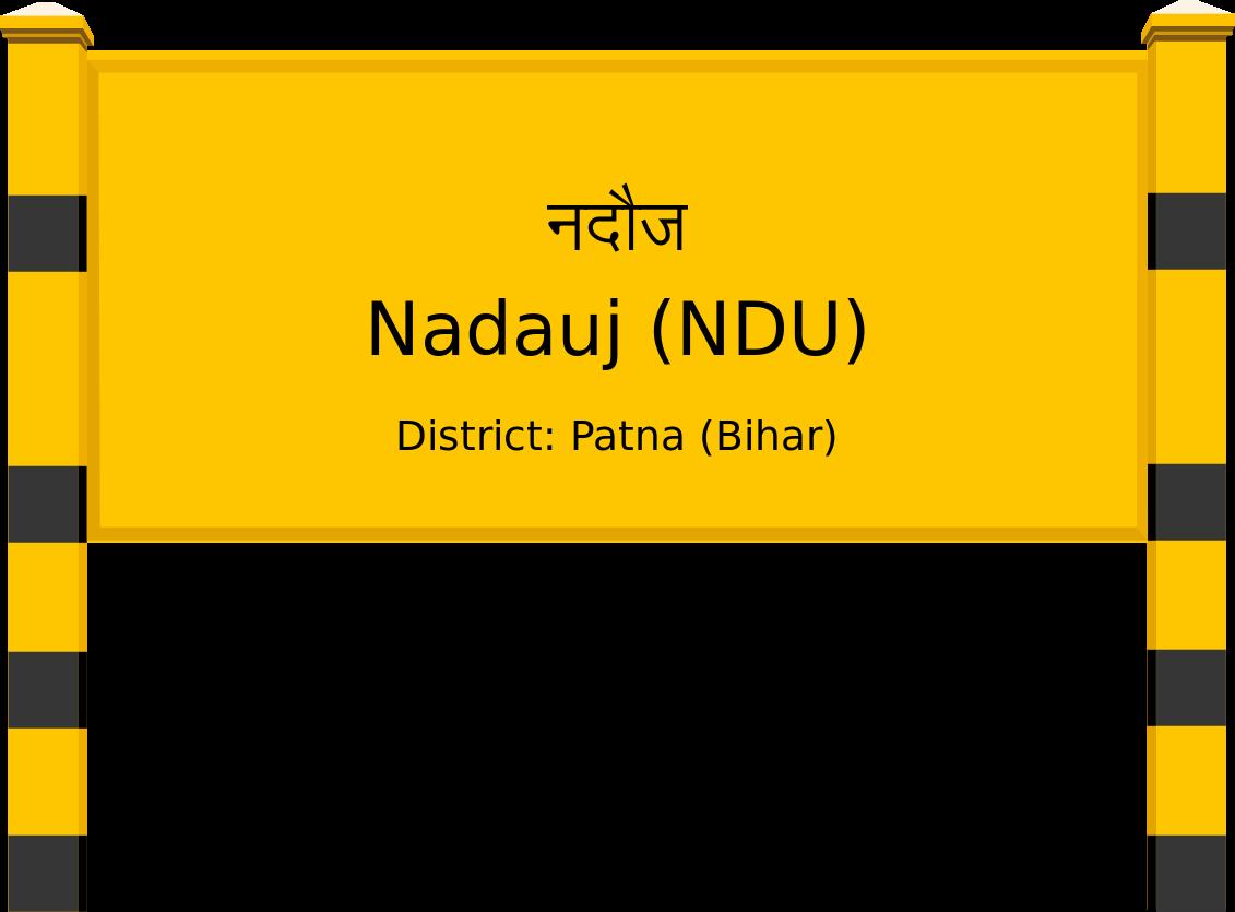 Nadauj (NDU) Railway Station