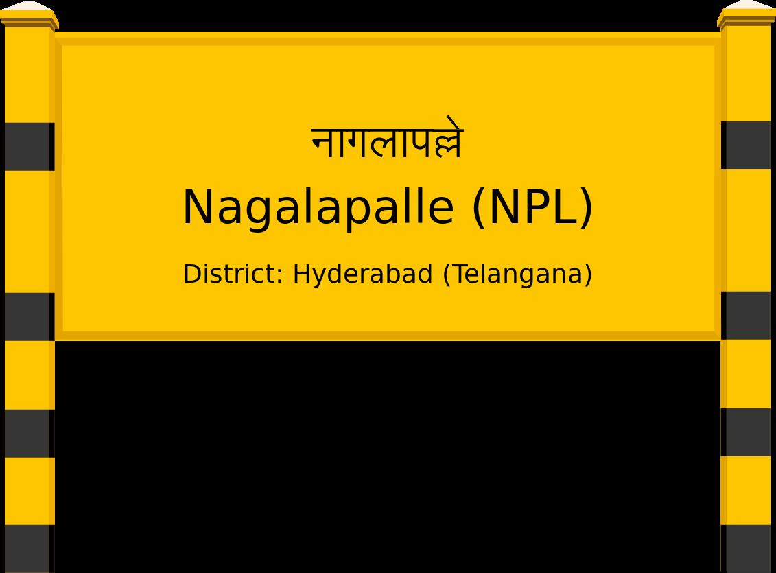 Nagalapalle (NPL) Railway Station