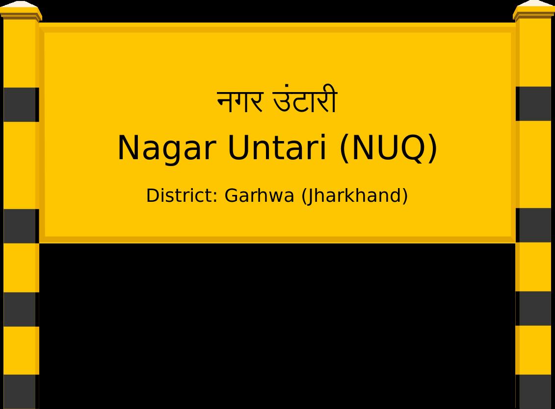 Nagar Untari (NUQ) Railway Station