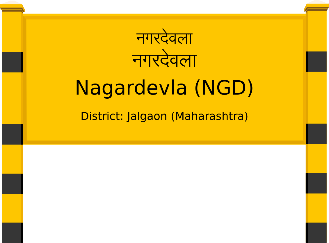 Nagardevla (NGD) Railway Station