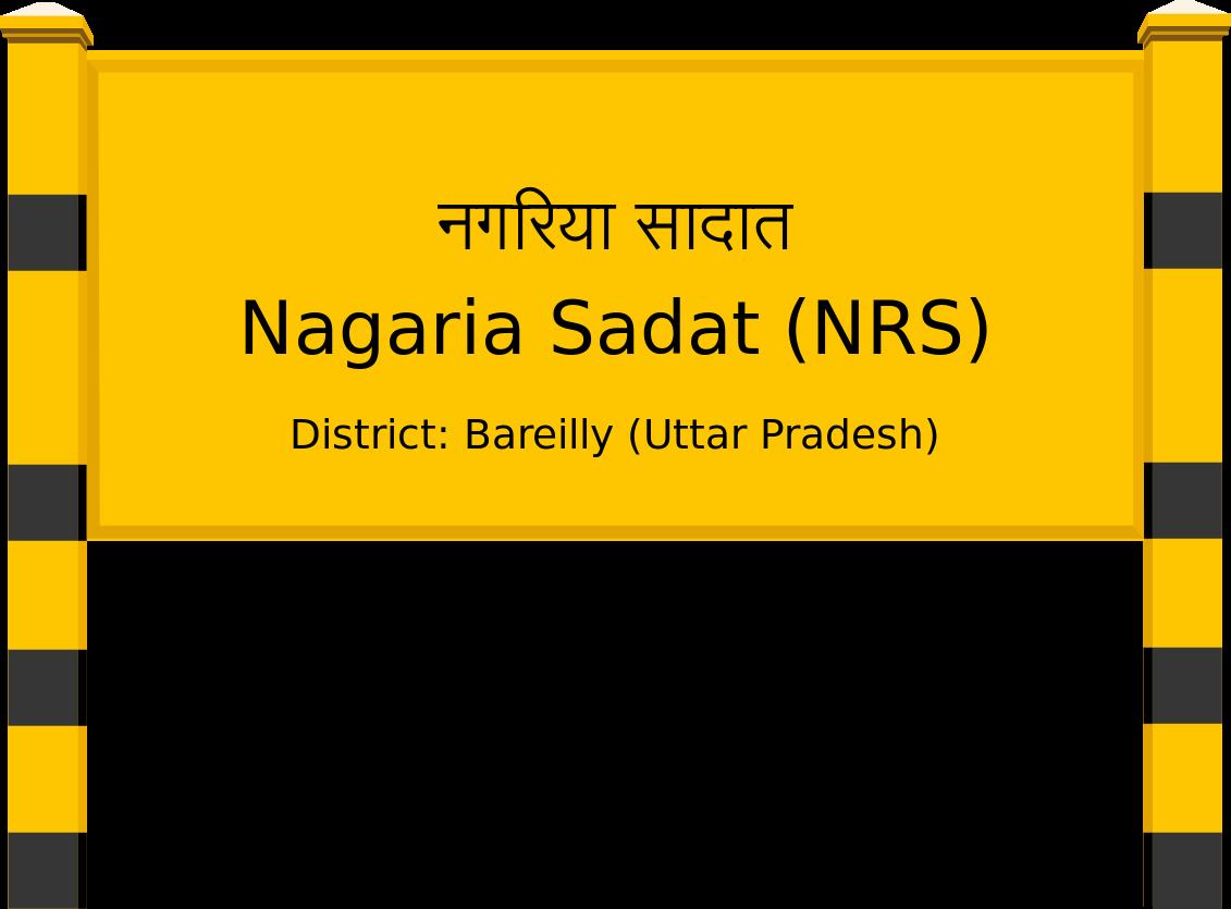 Nagaria Sadat (NRS) Railway Station