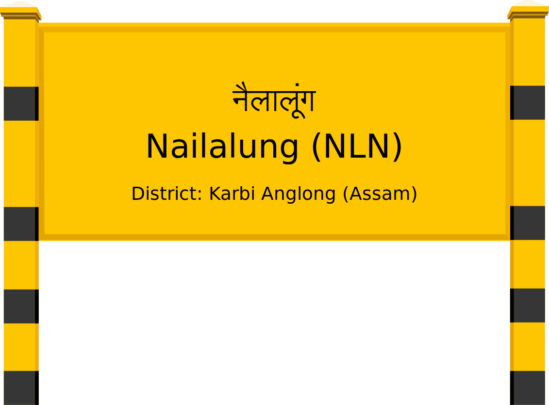 Nailalung (NLN) Railway Station