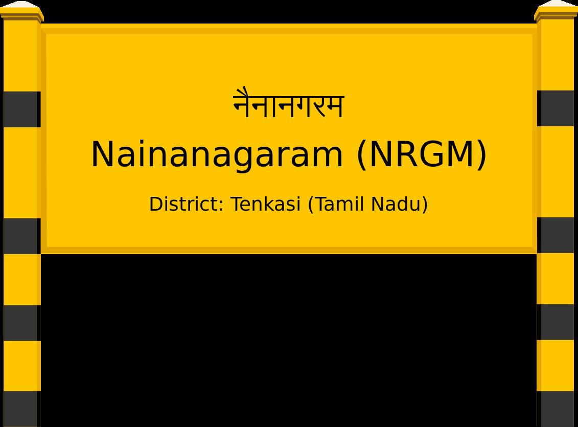 Nainanagaram (NRGM) Railway Station