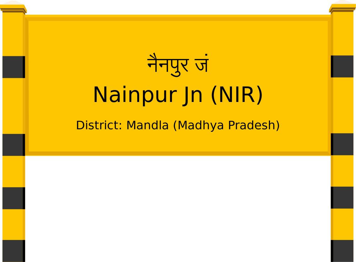 Nainpur Jn (NIR) Railway Station
