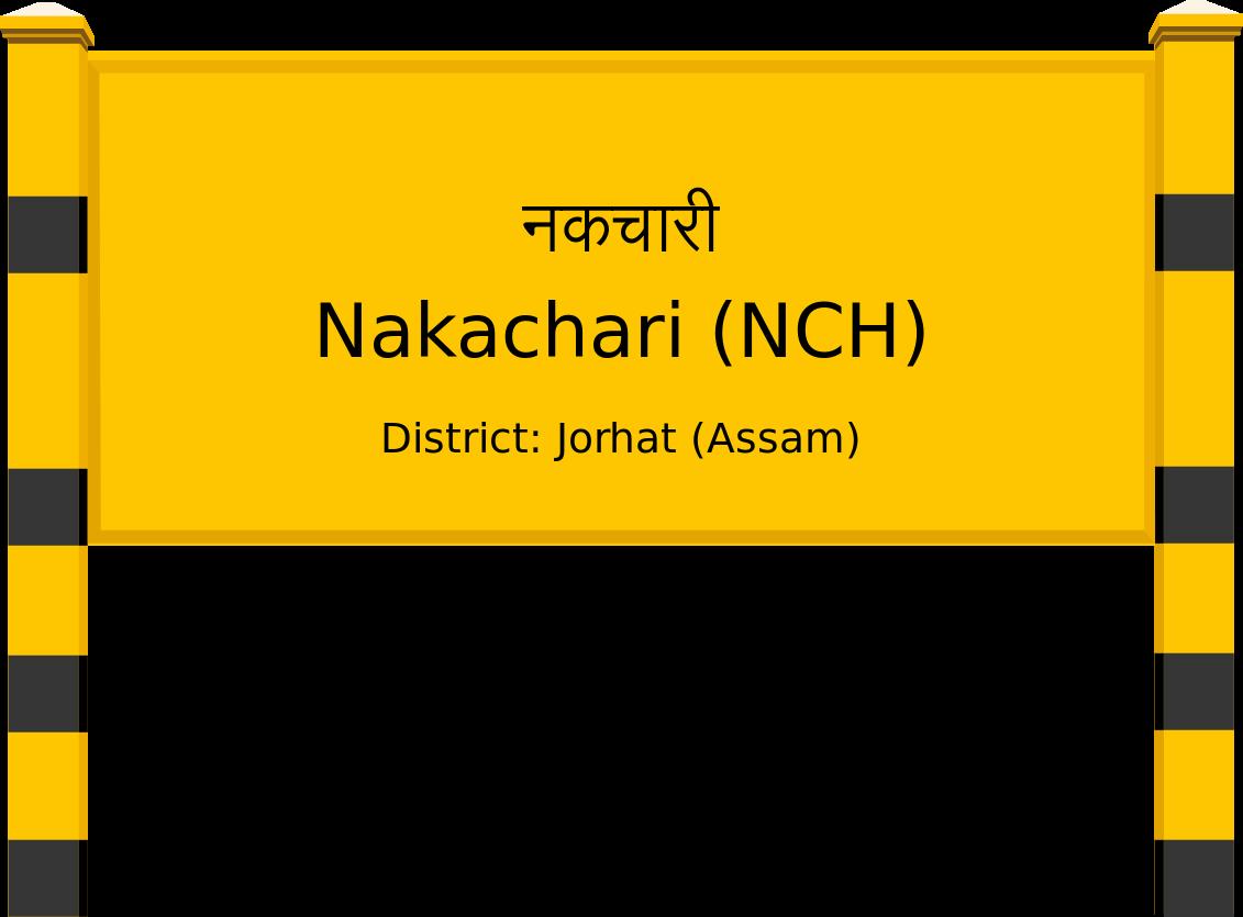 Nakachari (NCH) Railway Station