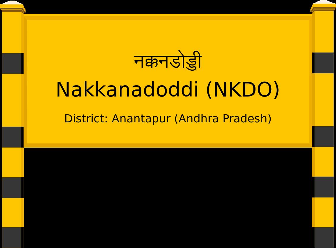 Nakkanadoddi (NKDO) Railway Station