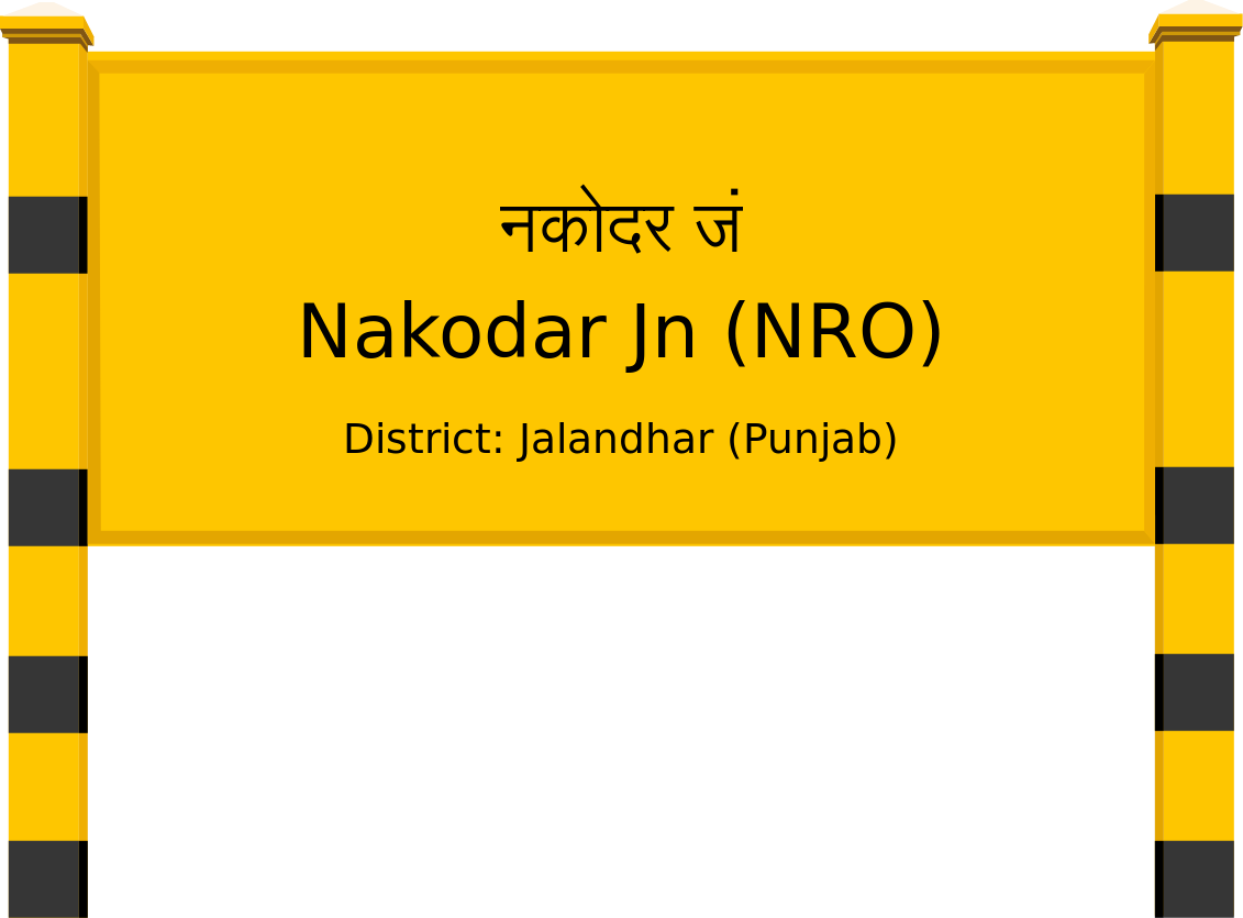 Nakodar Jn (NRO) Railway Station