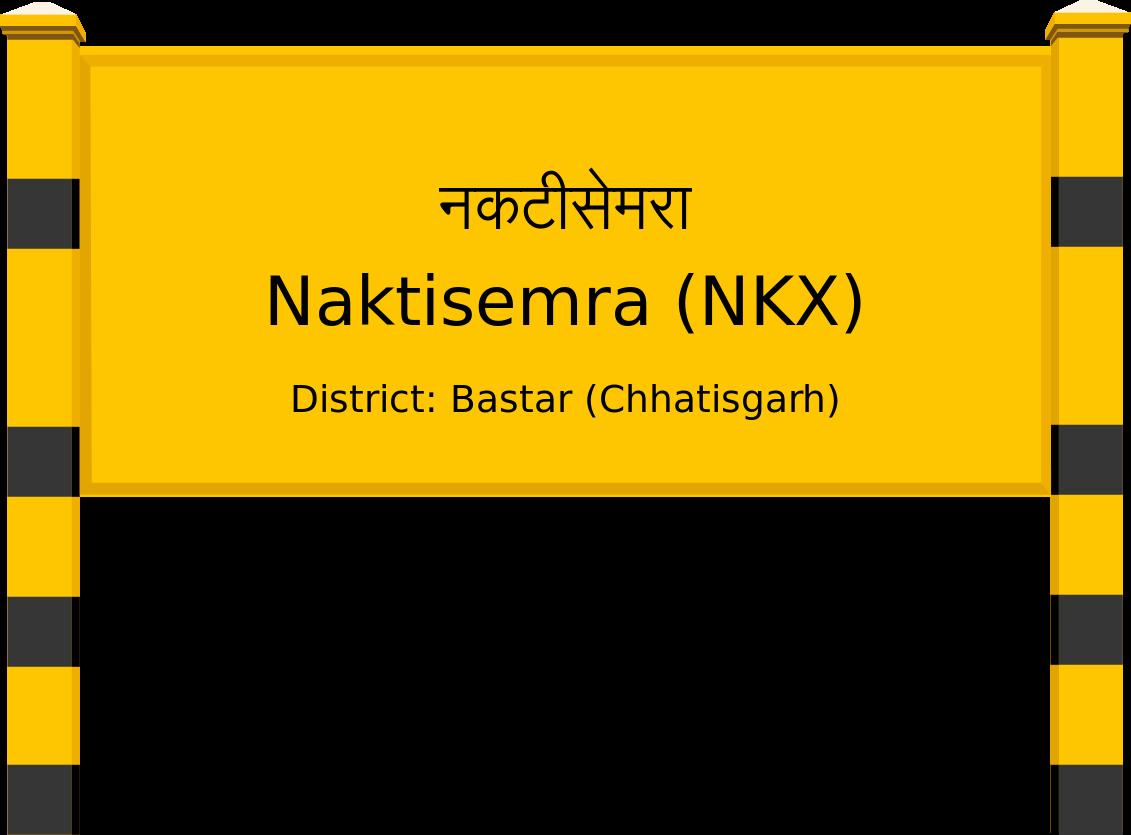 Naktisemra (NKX) Railway Station