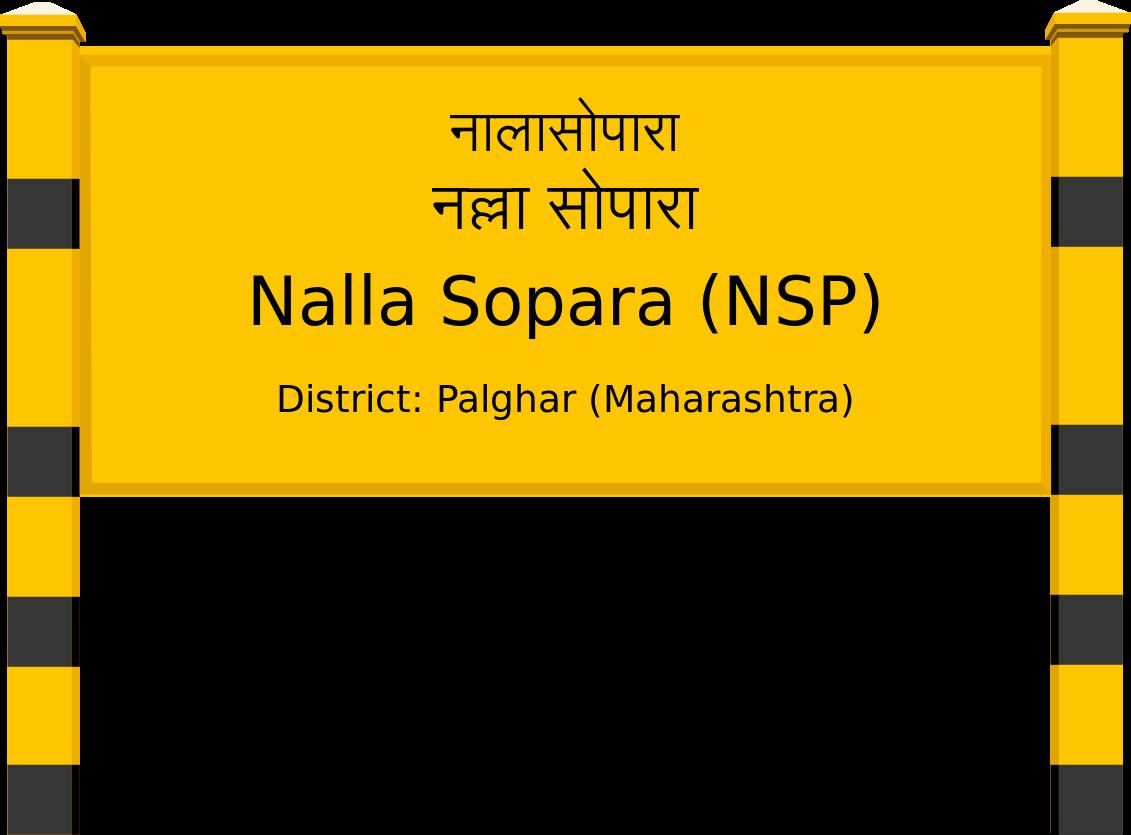 Nalla Sopara (NSP) Railway Station