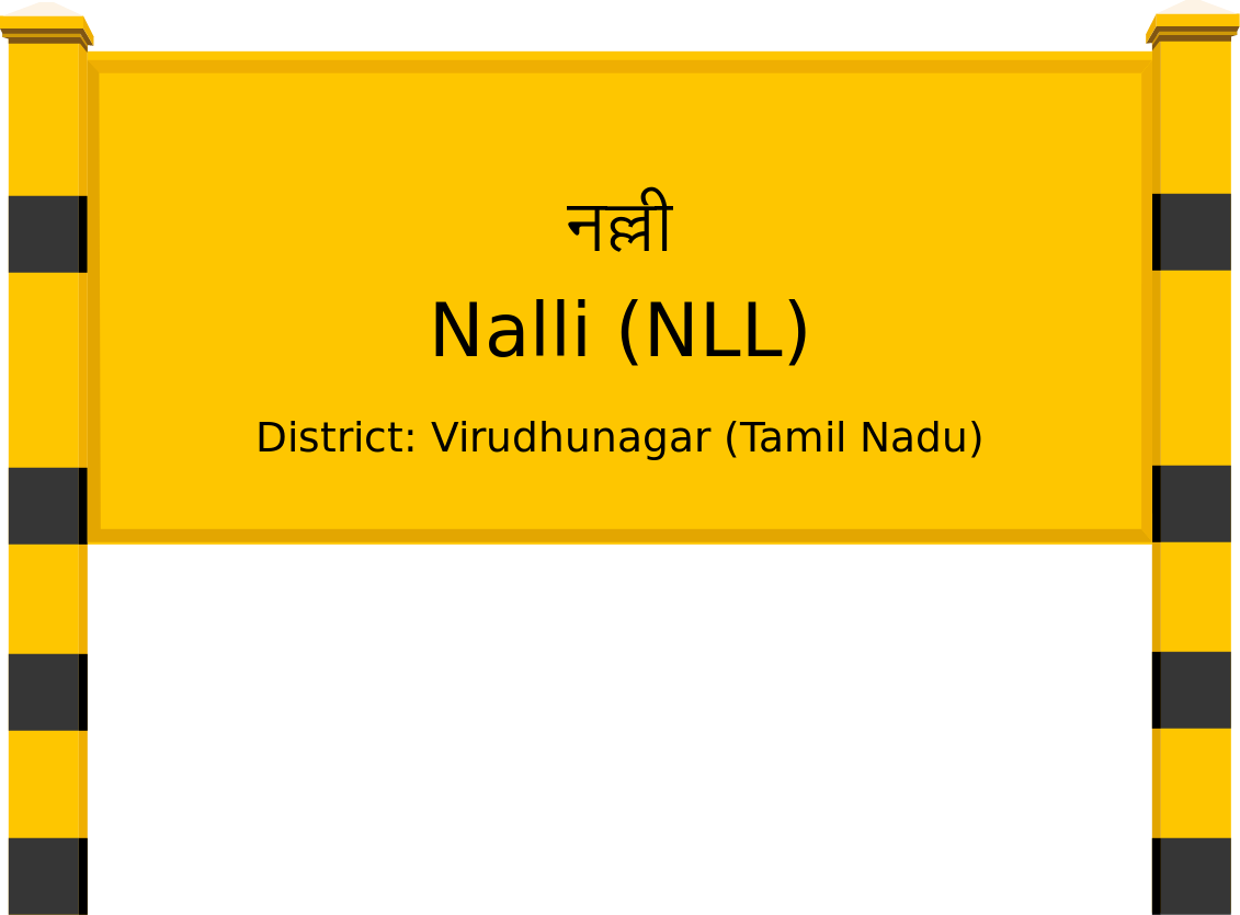 Nalli (NLL) Railway Station