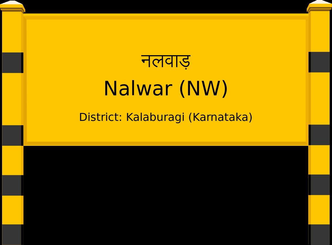Nalwar (NW) Railway Station
