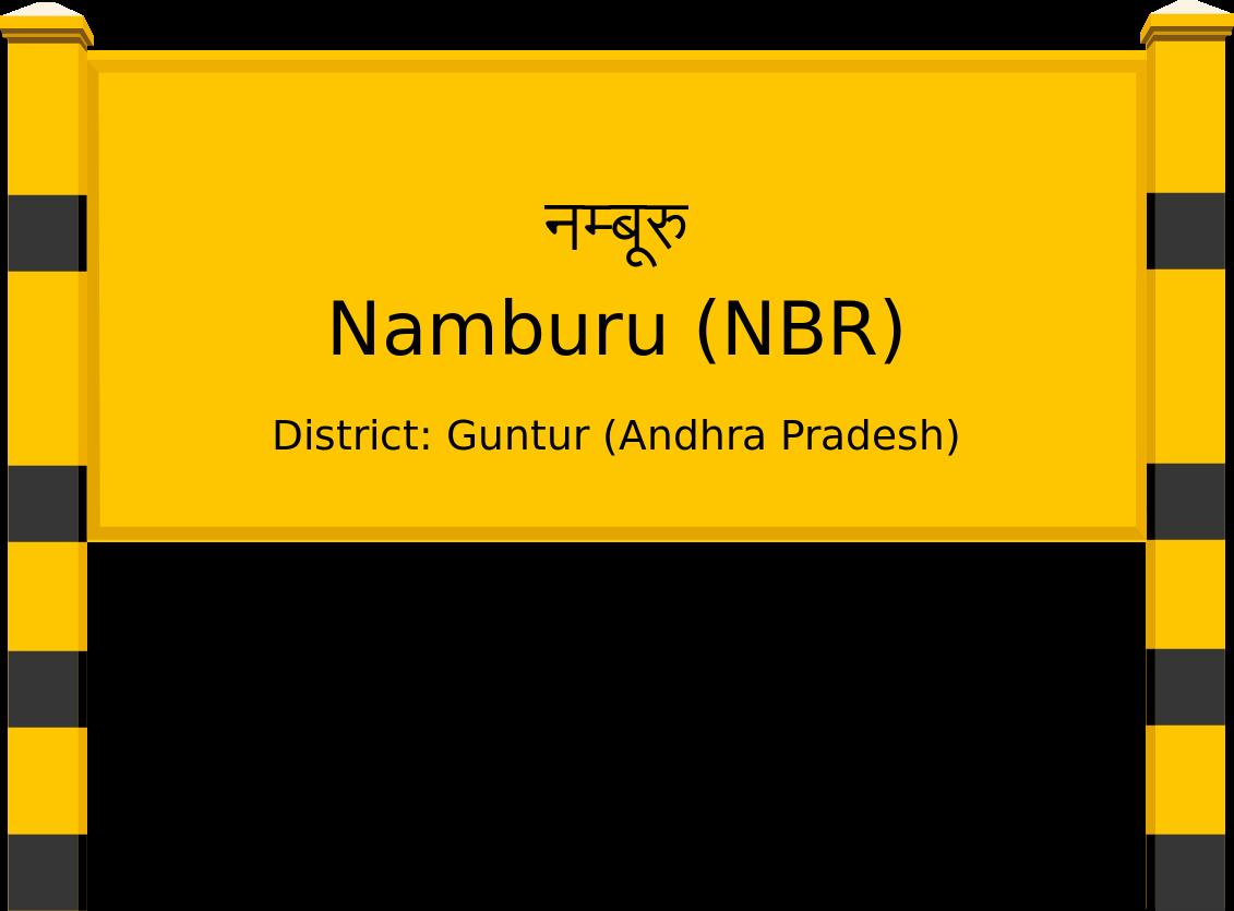Namburu (NBR) Railway Station