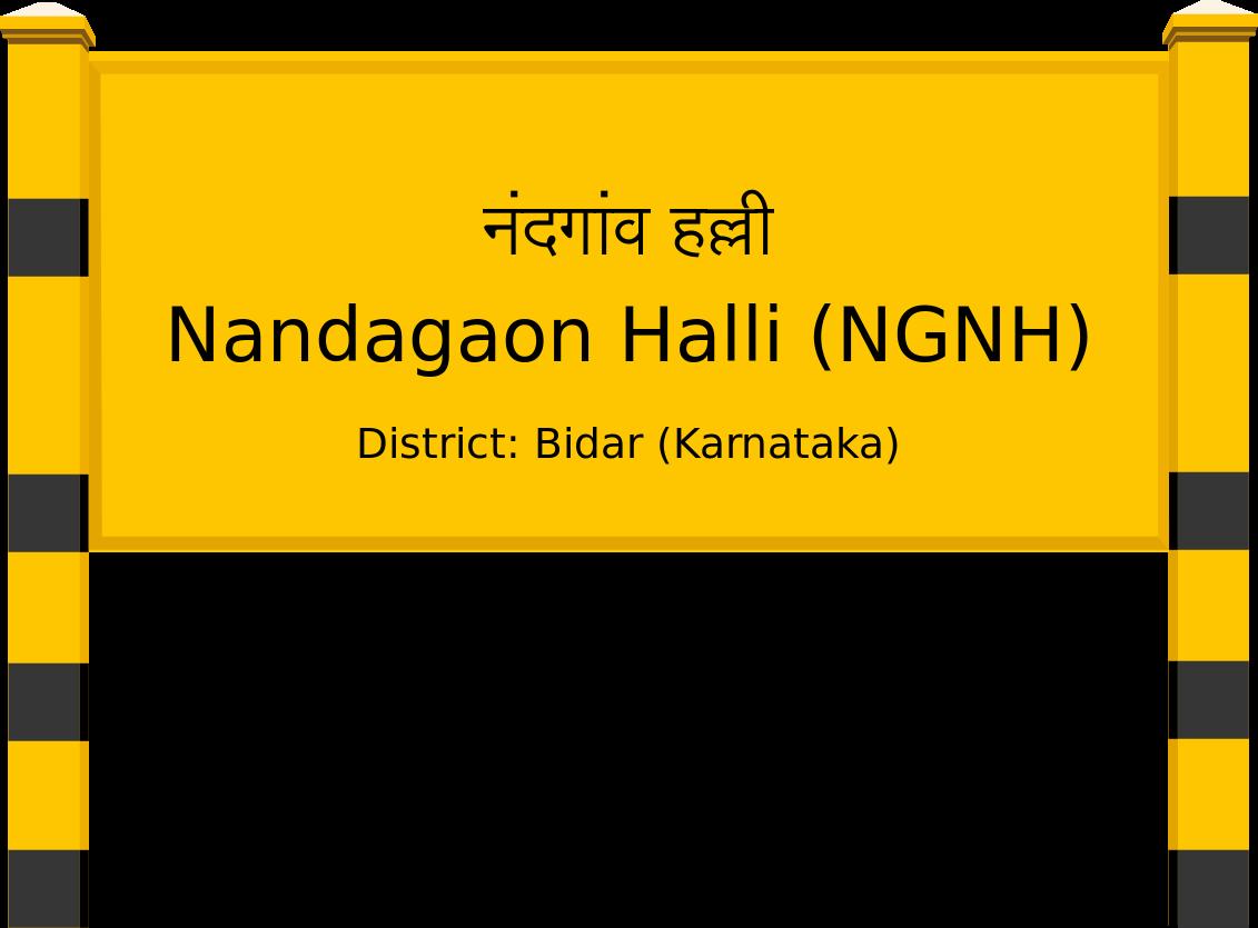 Nandagaon Halli (NGNH) Railway Station