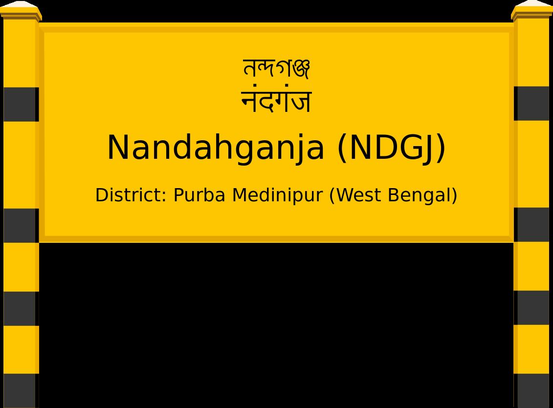 Nandahganja (NDGJ) Railway Station