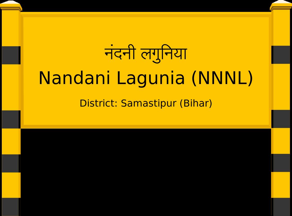Nandani Lagunia (NNNL) Railway Station
