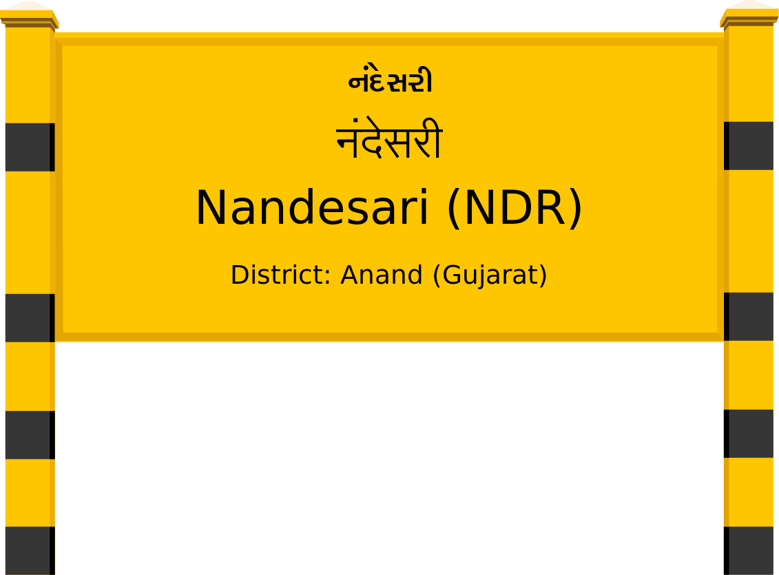 Nandesari (NDR) Railway Station