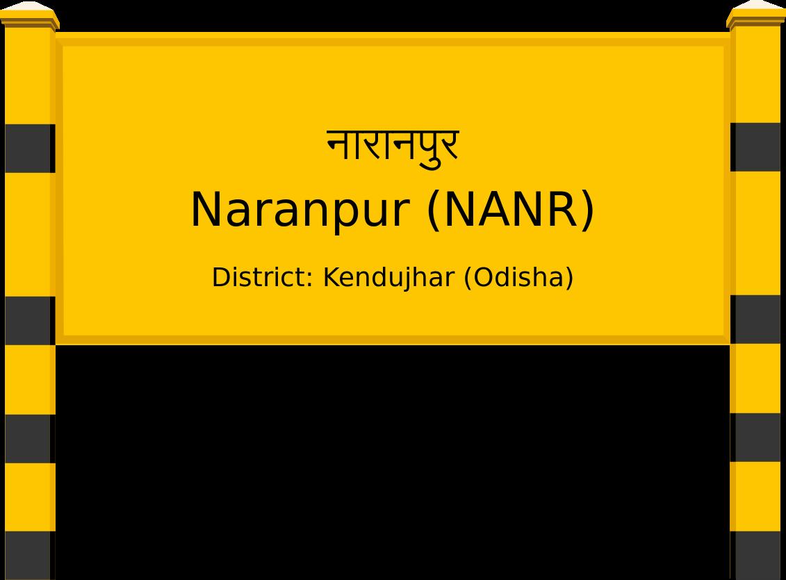 Naranpur (NANR) Railway Station