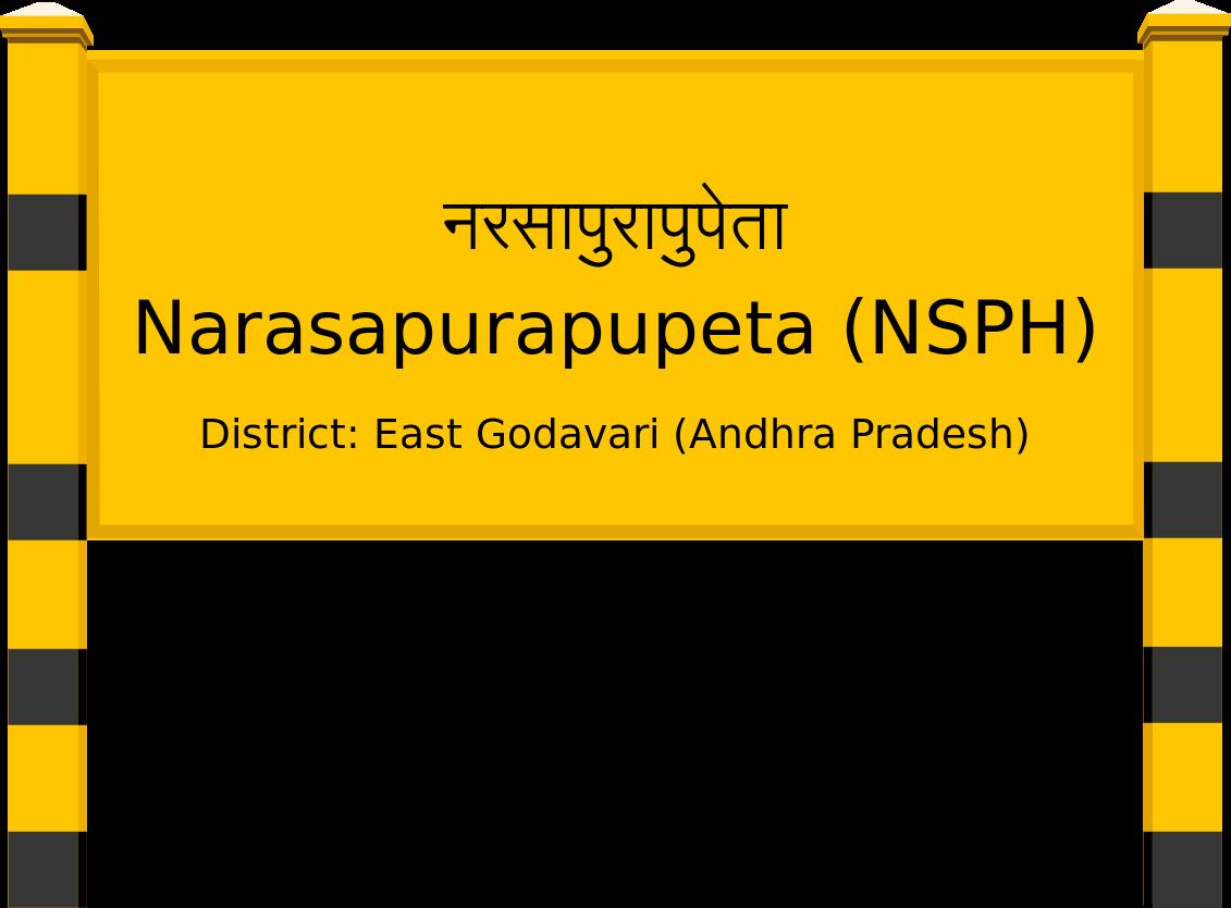 Narasapurapupeta (NSPH) Railway Station