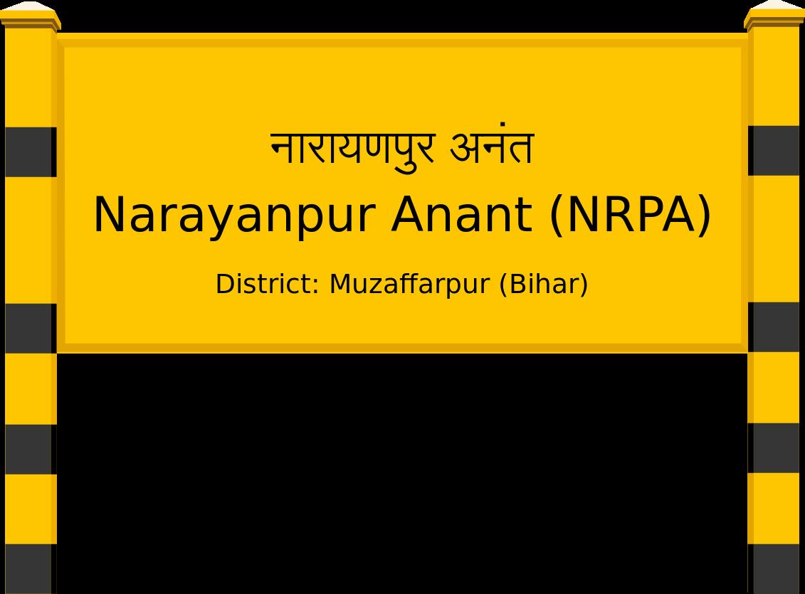 Narayanpur Anant (NRPA) Railway Station