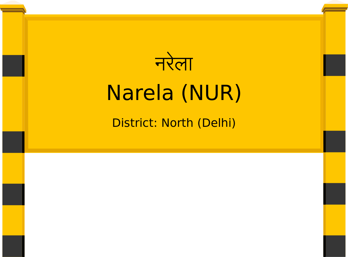 Narela (NUR) Railway Station