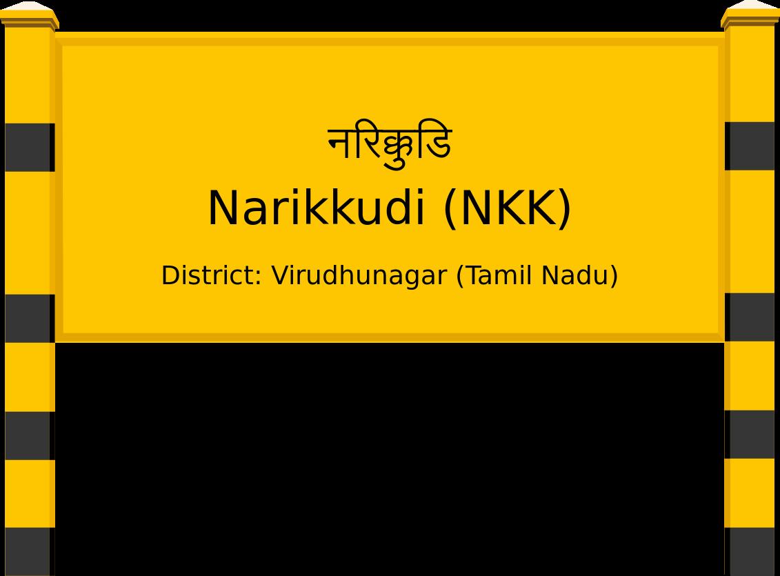 Narikkudi (NKK) Railway Station