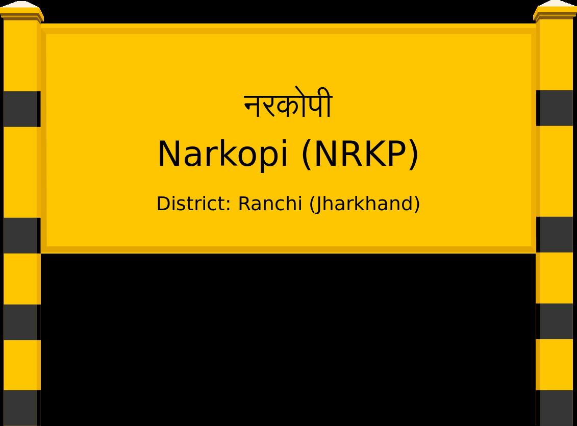 Narkopi (NRKP) Railway Station