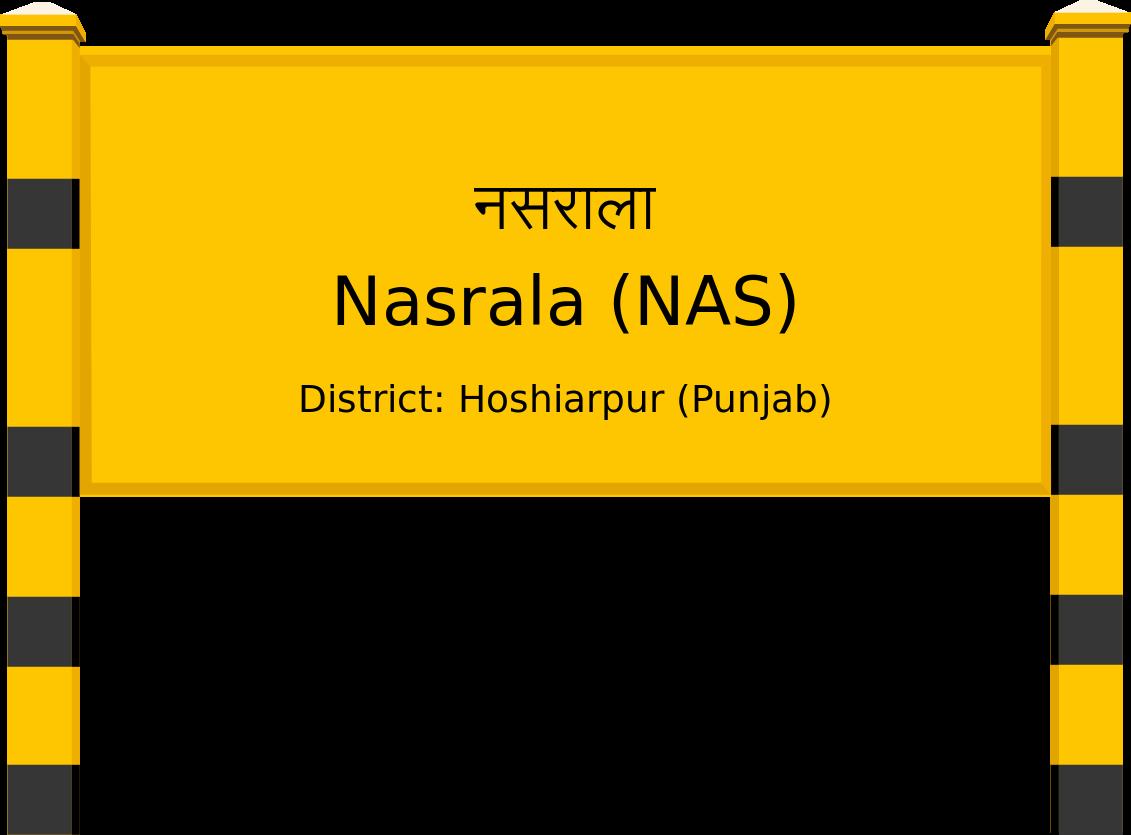 Nasrala (NAS) Railway Station