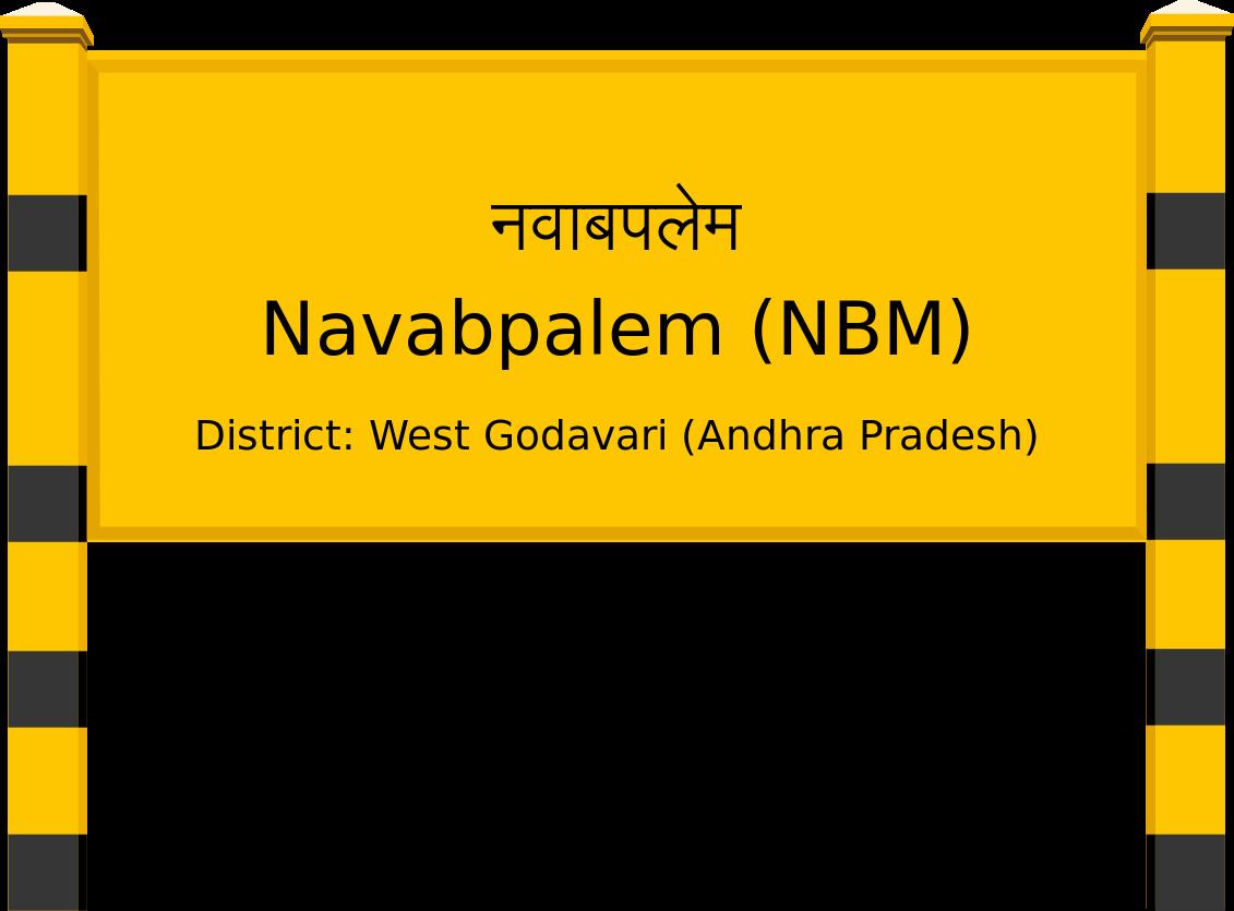 Navabpalem (NBM) Railway Station