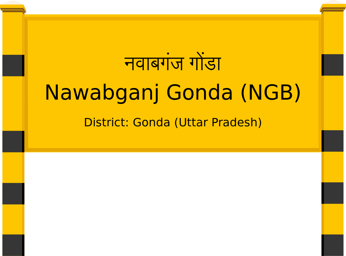 Nawabganj Gonda (NGB) Railway Station