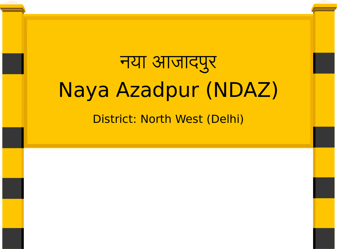 Naya Azadpur (NDAZ) Railway Station