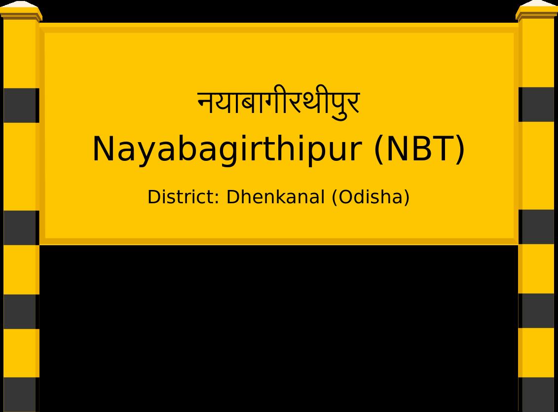 Nayabagirthipur (NBT) Railway Station