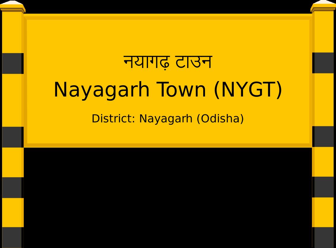 Nayagarh Town (NYGT) Railway Station