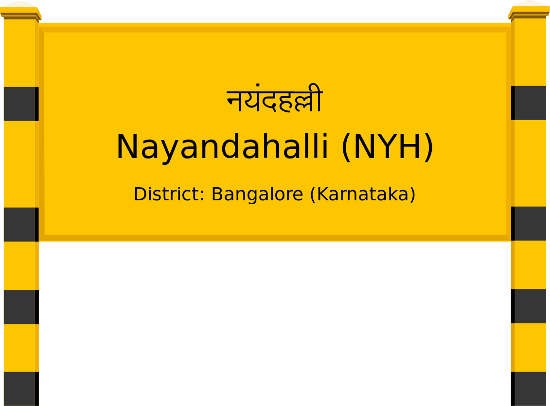 Nayandahalli (NYH) Railway Station