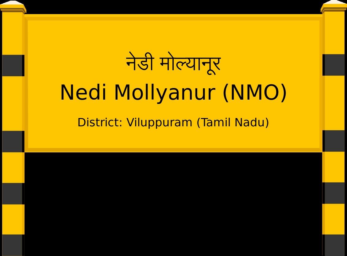 Nedi Mollyanur (NMO) Railway Station