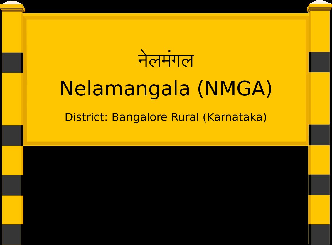 Nelamangala (NMGA) Railway Station