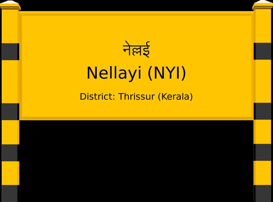 Nellayi (NYI) Railway Station