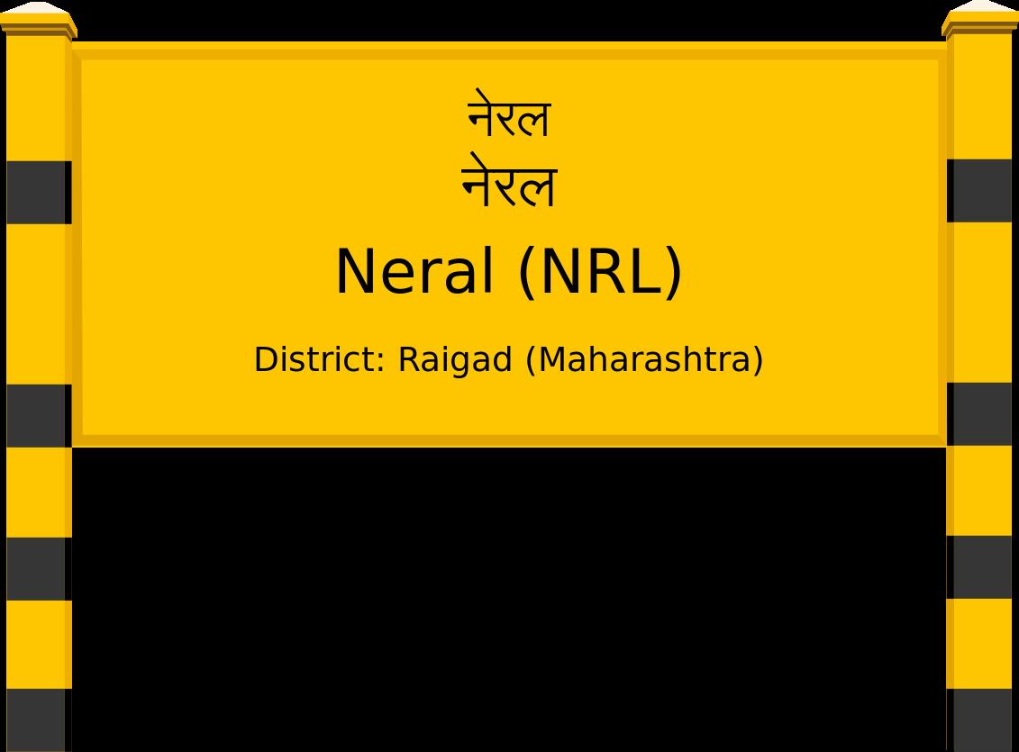 Neral (NRL) Railway Station