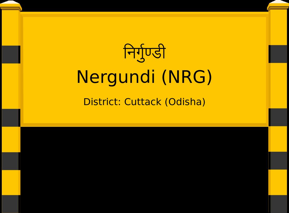 Nergundi (NRG) Railway Station