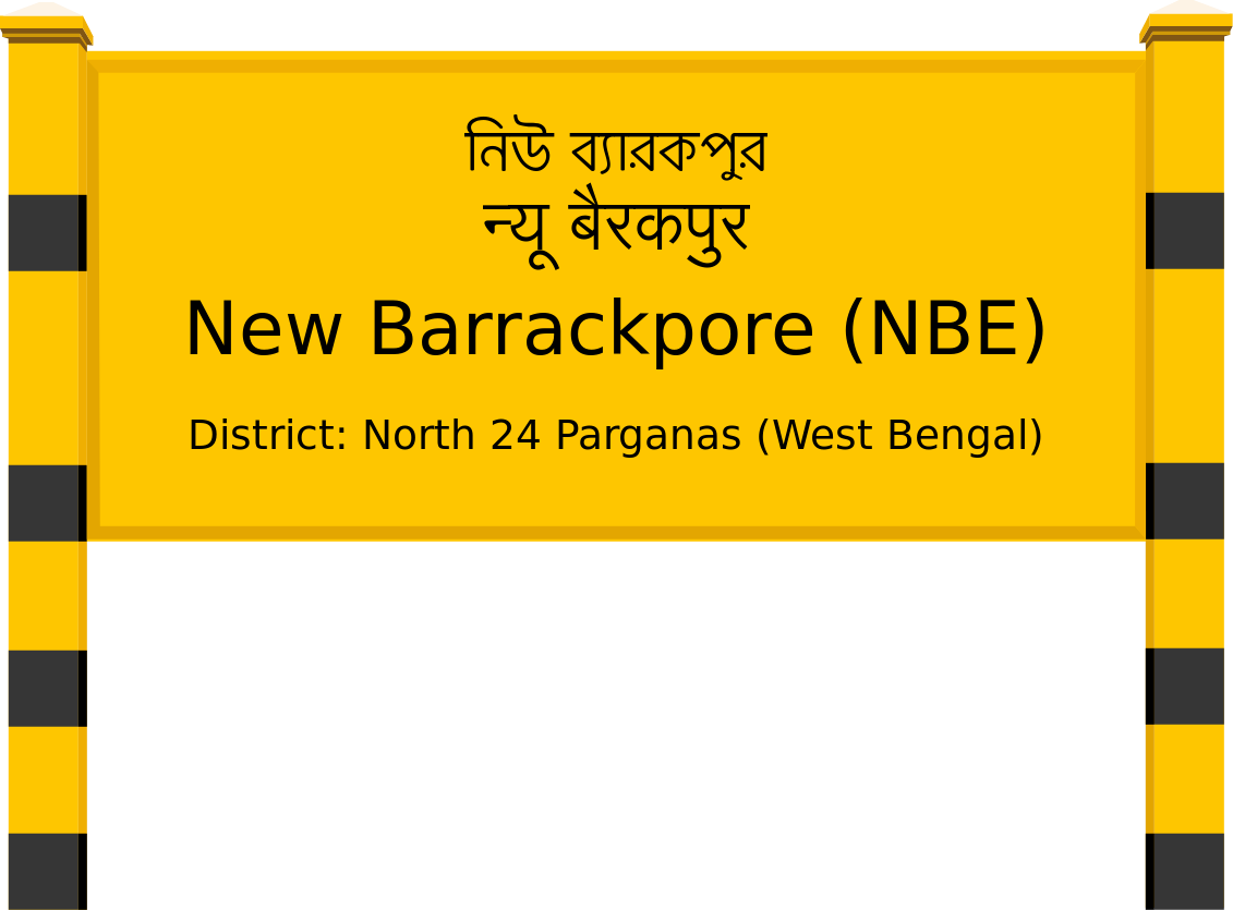 New Barrackpore (NBE) Railway Station