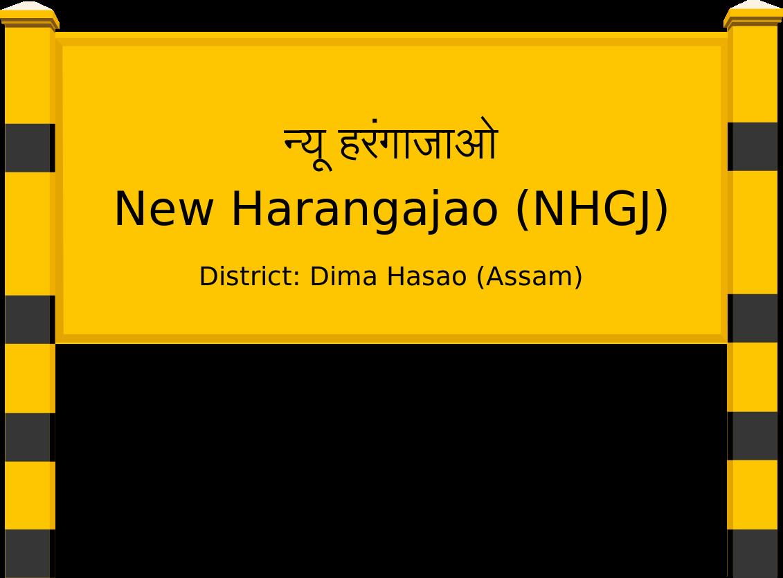 New Harangajao (NHGJ) Railway Station