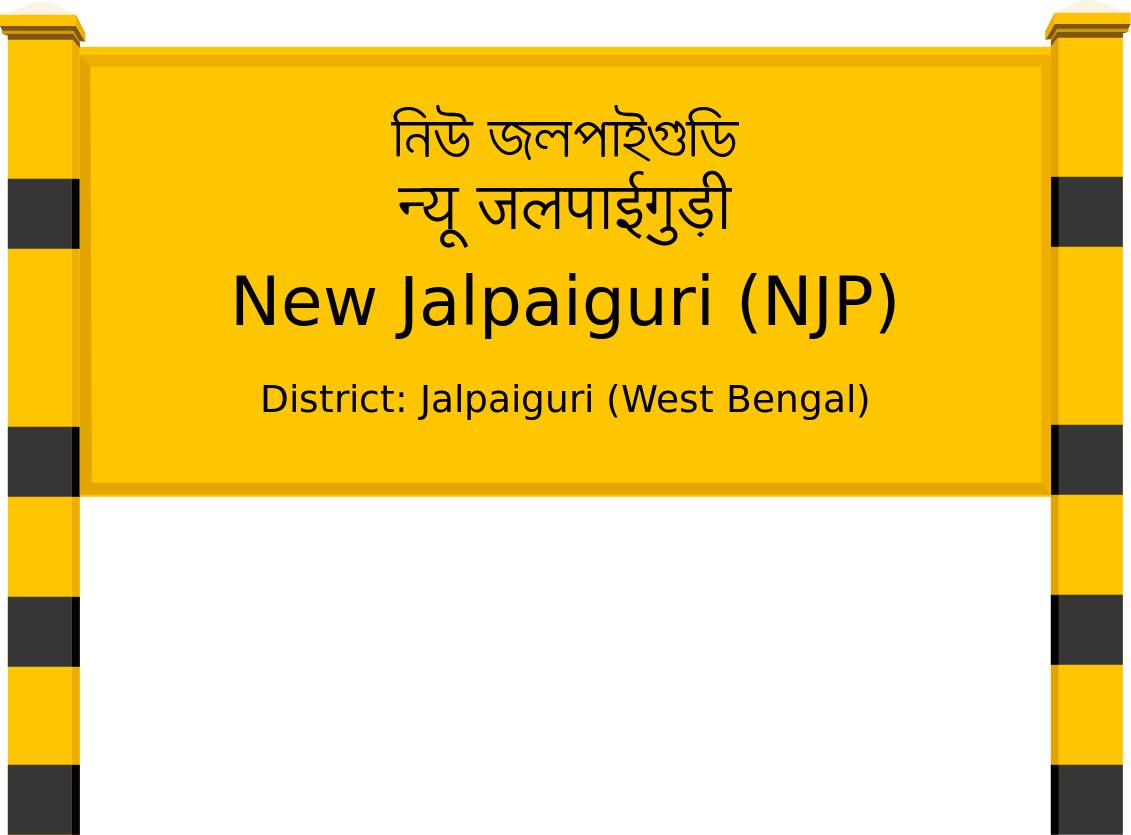 New Jalpaiguri (NJP) Railway Station