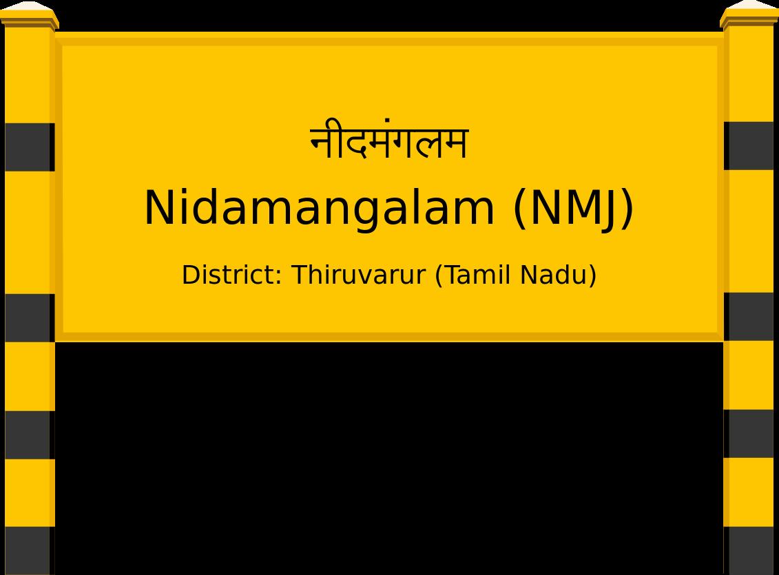 Nidamangalam (NMJ) Railway Station