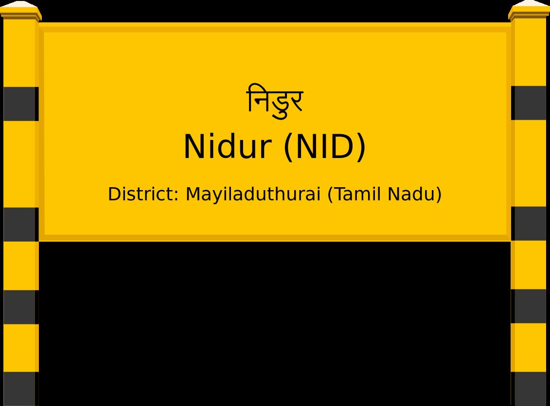 Nidur (NID) Railway Station