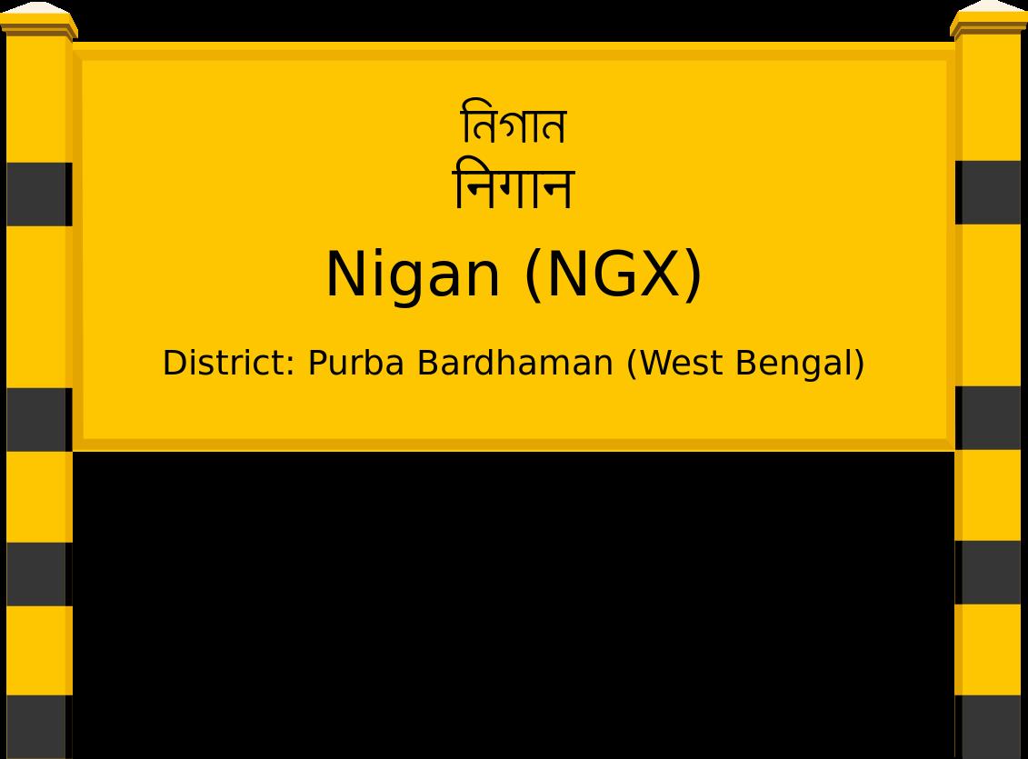 Nigan (NGX) Railway Station