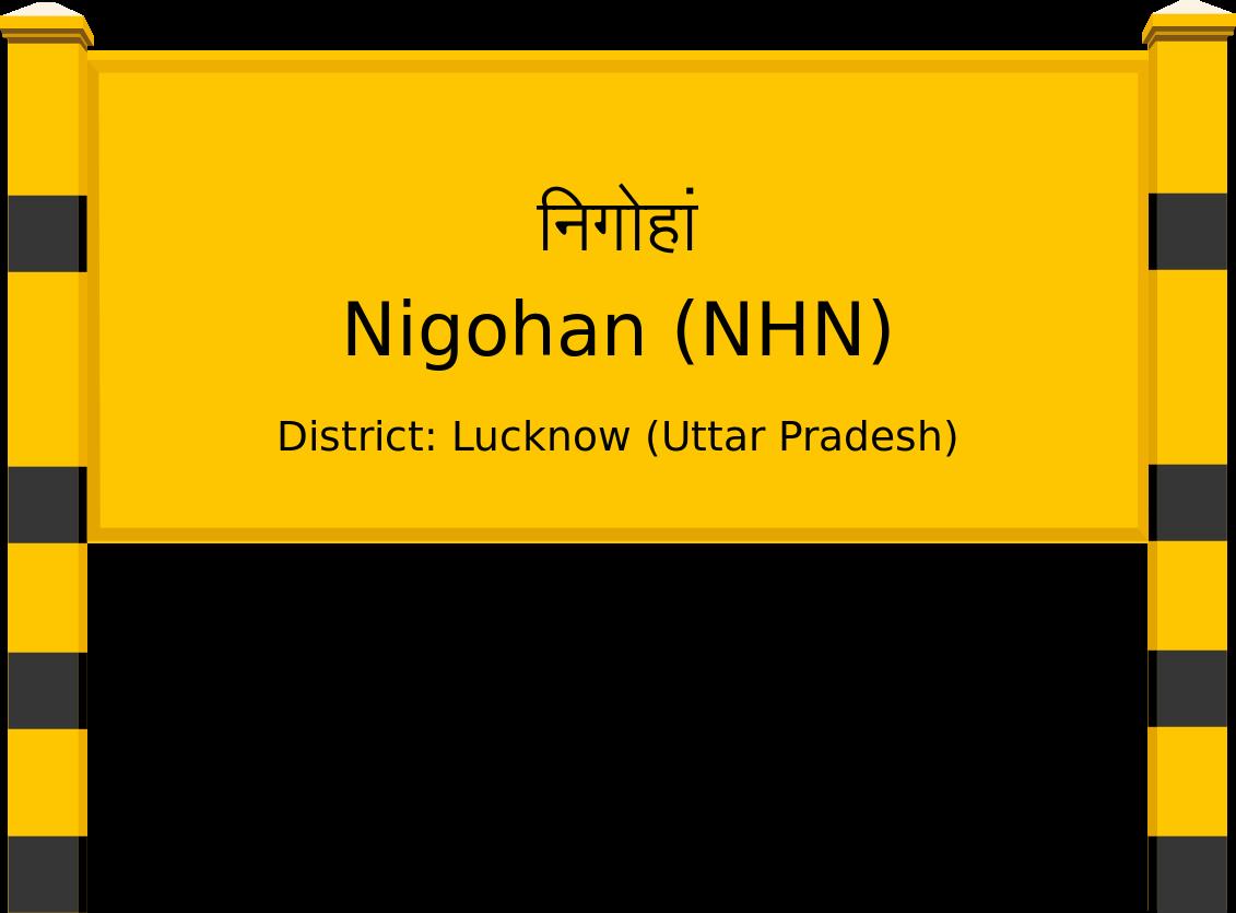 Nigohan (NHN) Railway Station
