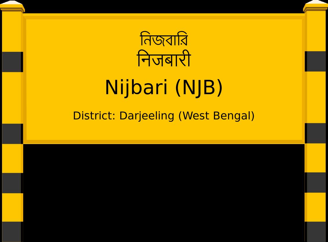 Nijbari (NJB) Railway Station