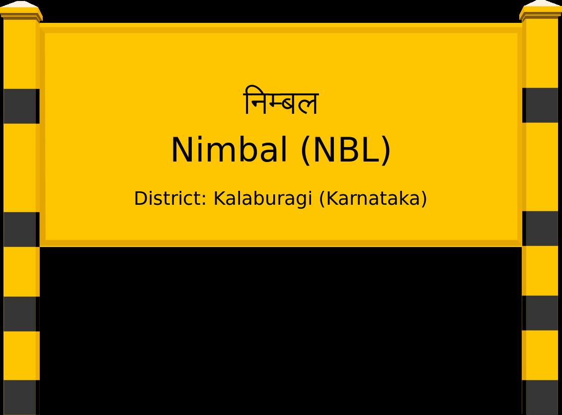 Nimbal (NBL) Railway Station